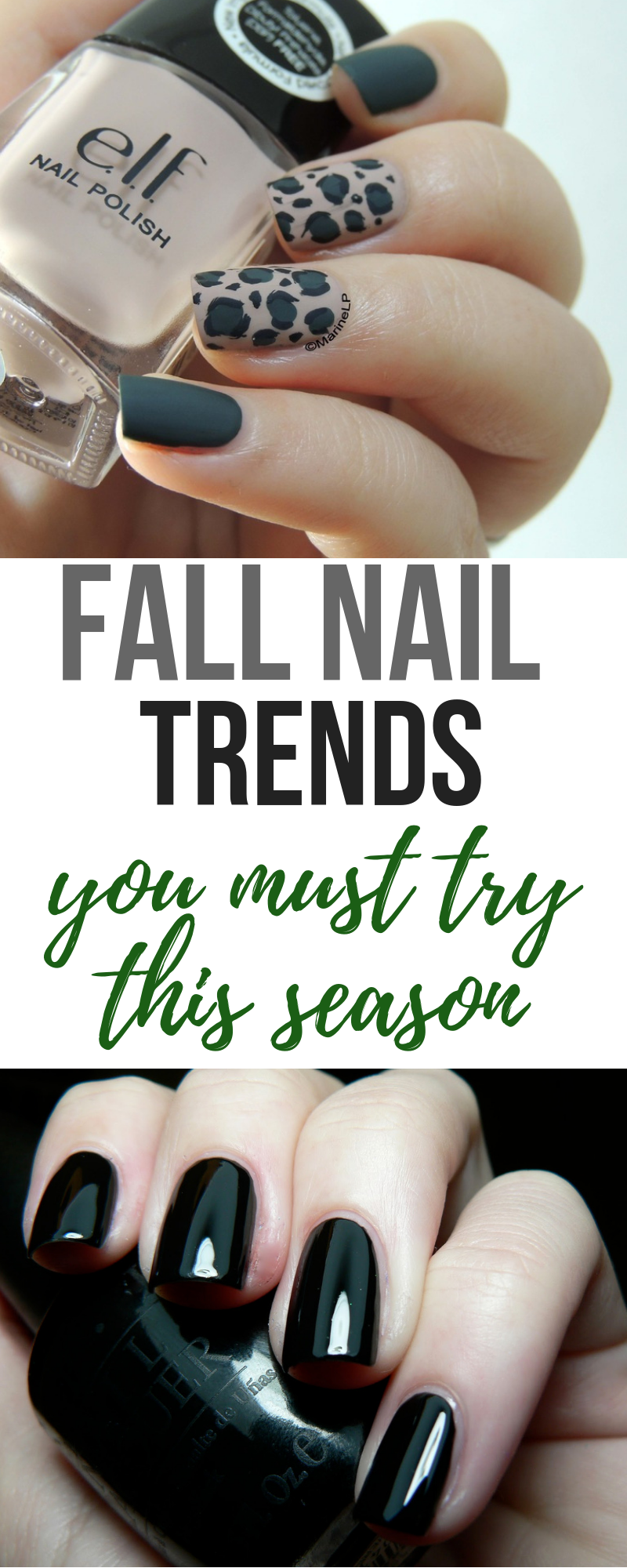 The Hottest Fall Nail Trends For 2018! Pin Now! #nails #fallnails #