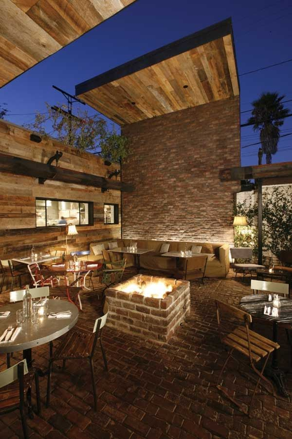 Gjelina Outdoor Restaurant Patio Patio Design Outdoor Restaurant