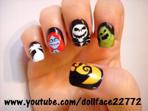 Jack & Friends - Halloween - Nail Art Gallery by NAILS Magazine