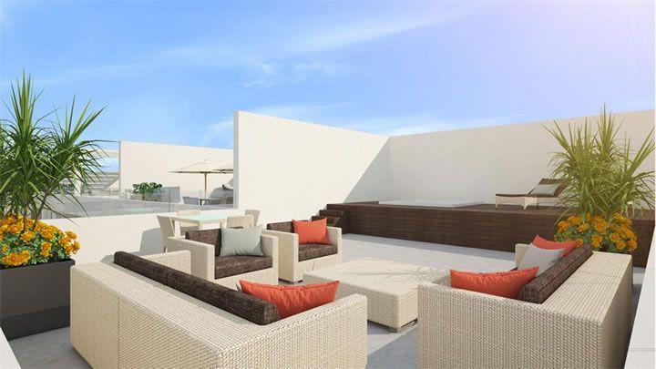 Terrazas en azotea interiorismo interior design 18 - Terrazas en azoteas ...