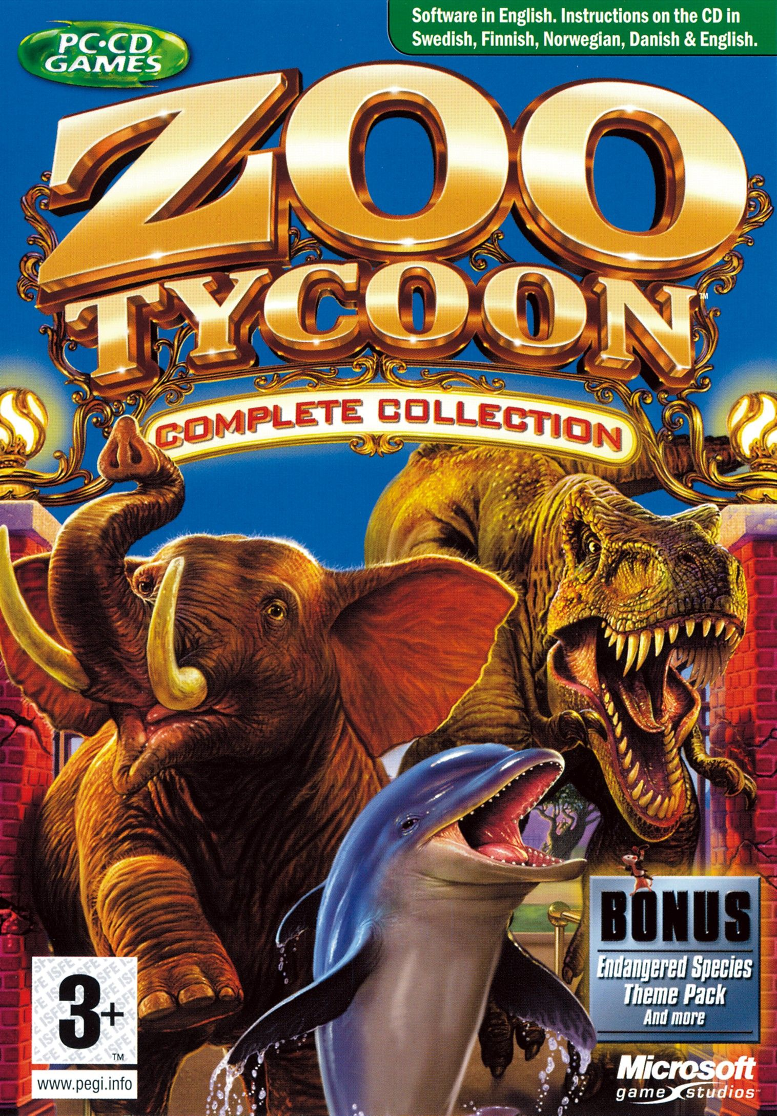 Zoo Tycoon Complete Collection Childhood Games Gaming Pc
