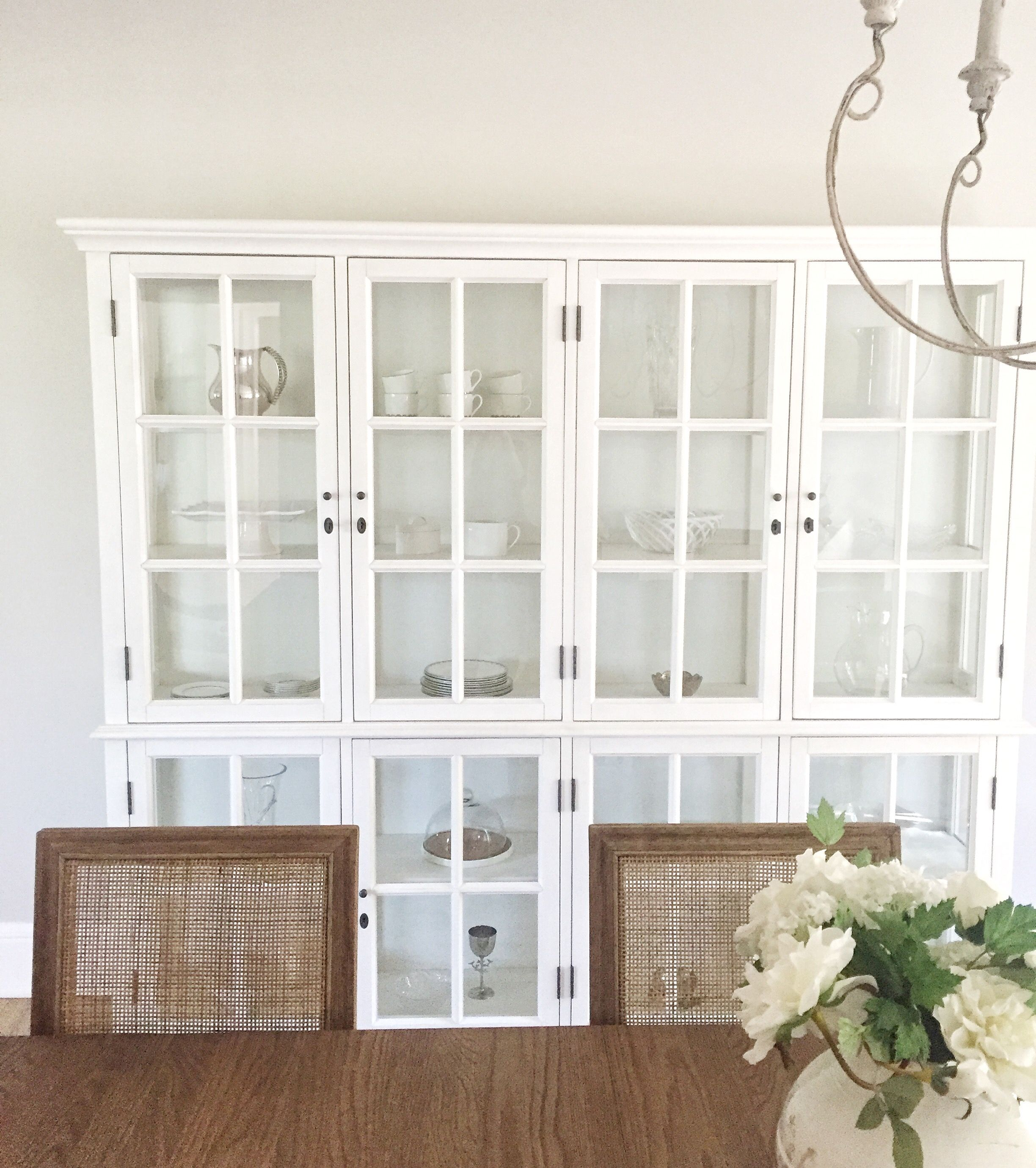 Restoration Hardware Dining Room China Cabinet Coastal Home