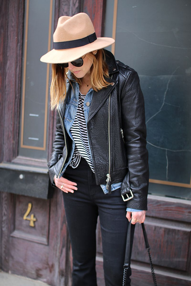 Five Easy Winter to Spring Transition Outfits featuring Denim Jackets :: Effortlessly with Roxy