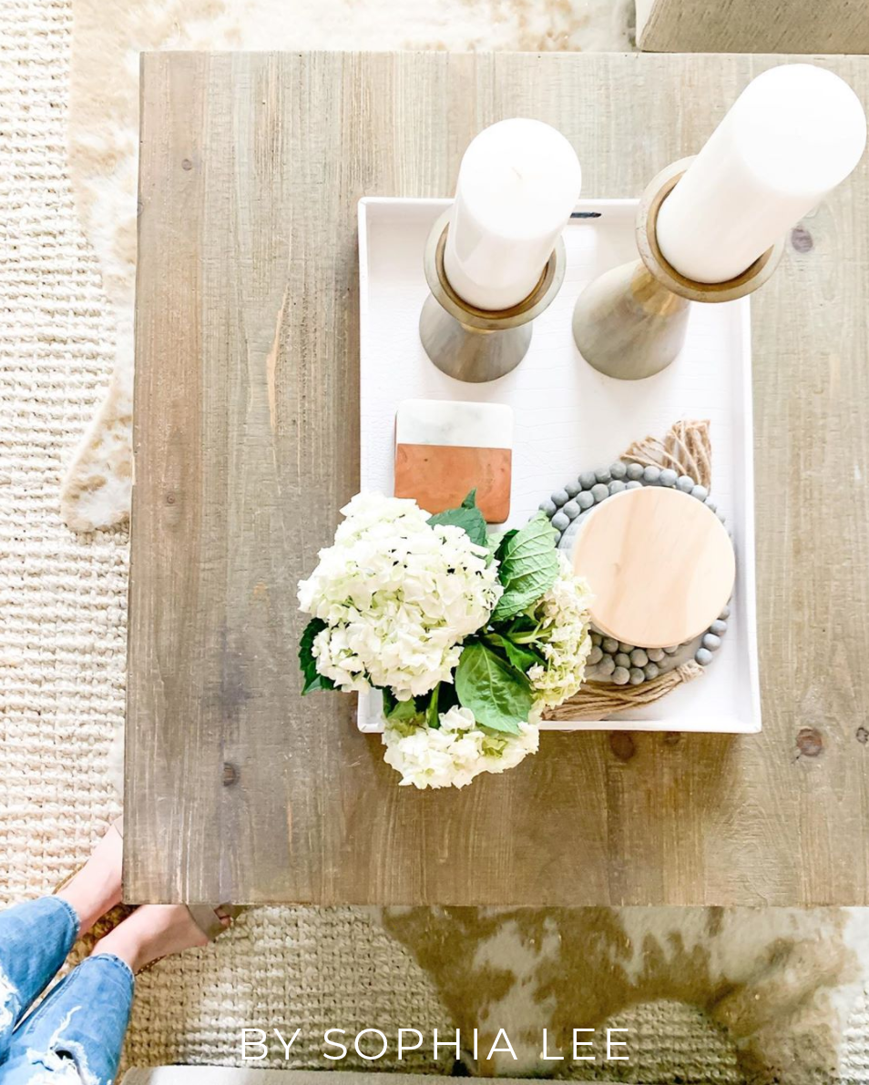 Decorating Smallspace Kitchen: Perfect Living Room Coffee Table Decor
