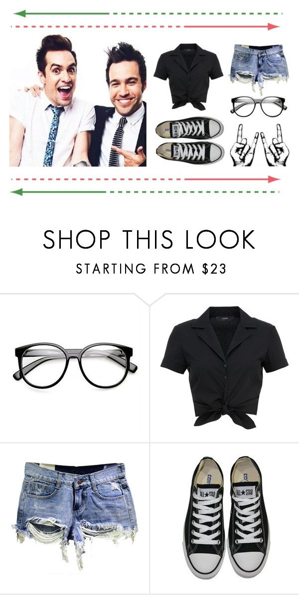 """""""Holiday Live!"""" by kaylaita0603 ❤ liked on Polyvore featuring ZeroUV, Hallhuber and Converse"""