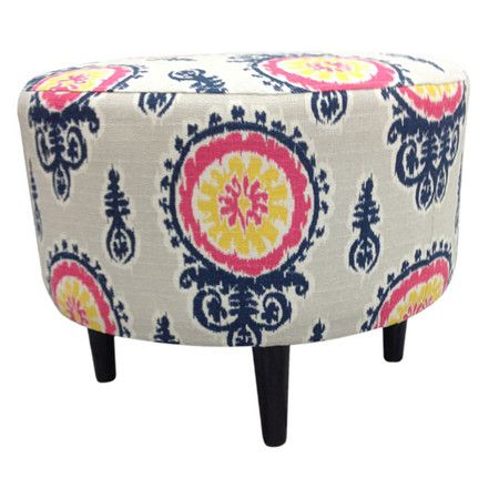 Calandra Ottoman Great Pop Of Color For Under 100 Ottoman Home