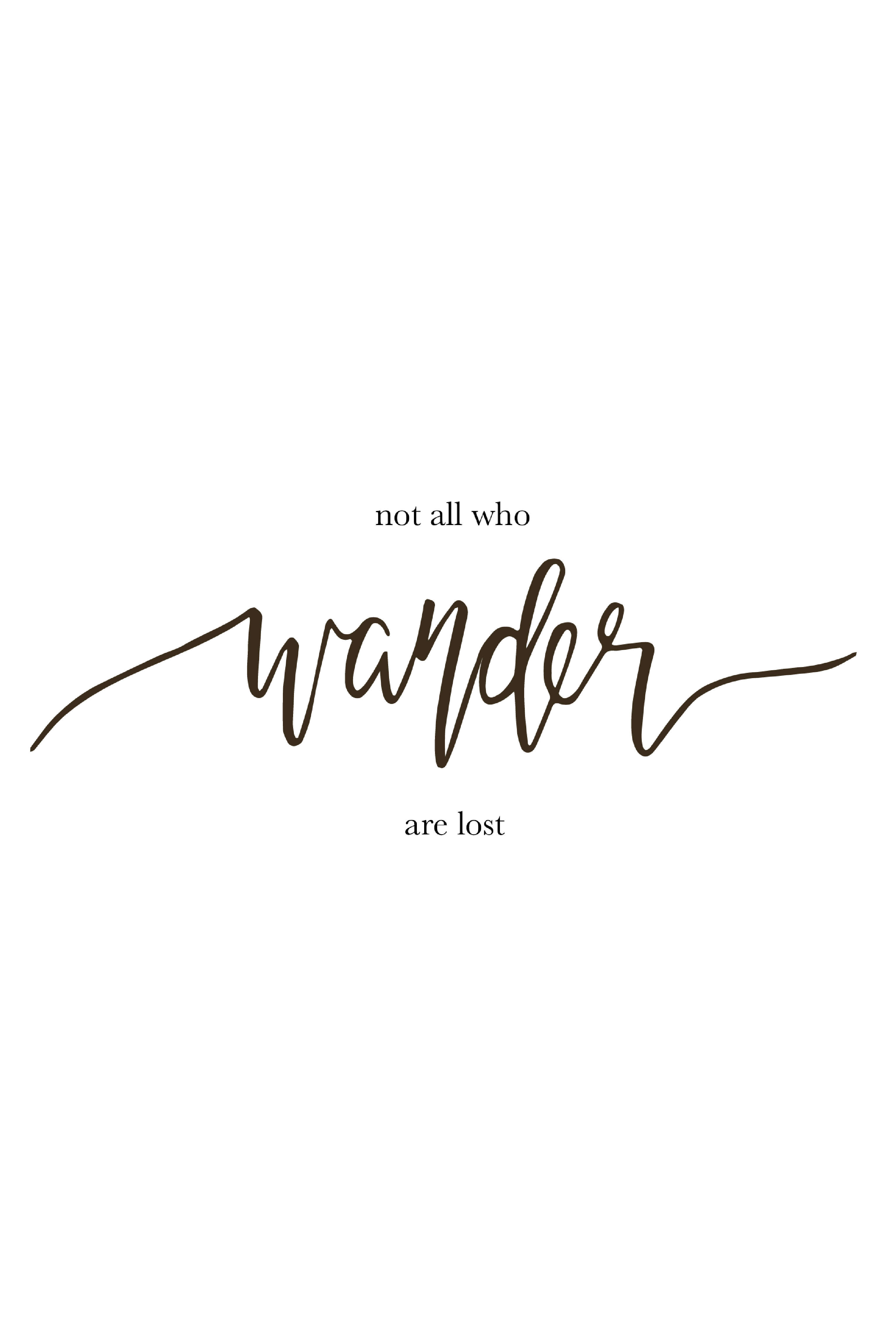 click through to see the entire collection not all who wander are