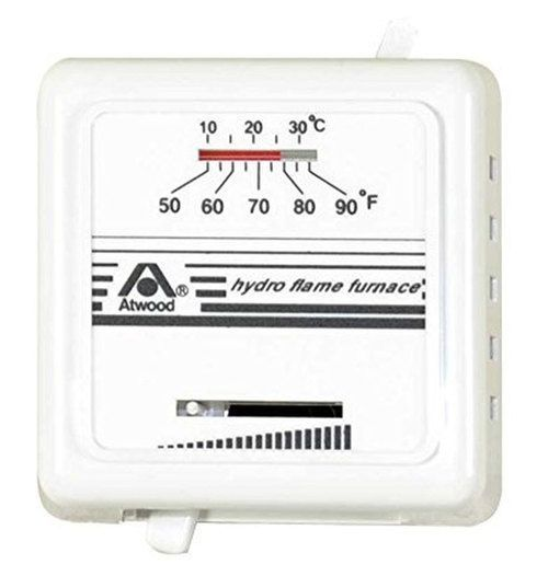 Dometic Atwood 38453 Rv Furnace Temp Control Thermostat White Electrical Components