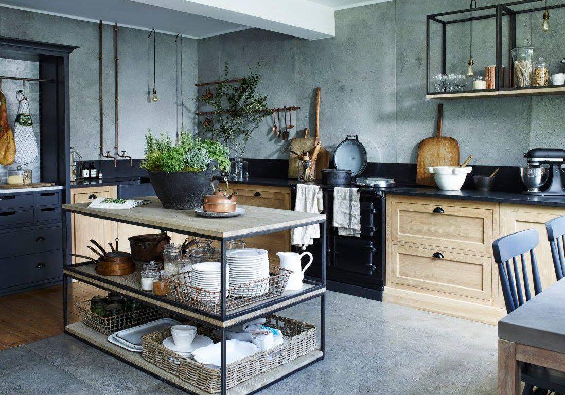 30 cuisines qui nous font r ver home maison mobilier de salon et cuisine campagne chic. Black Bedroom Furniture Sets. Home Design Ideas