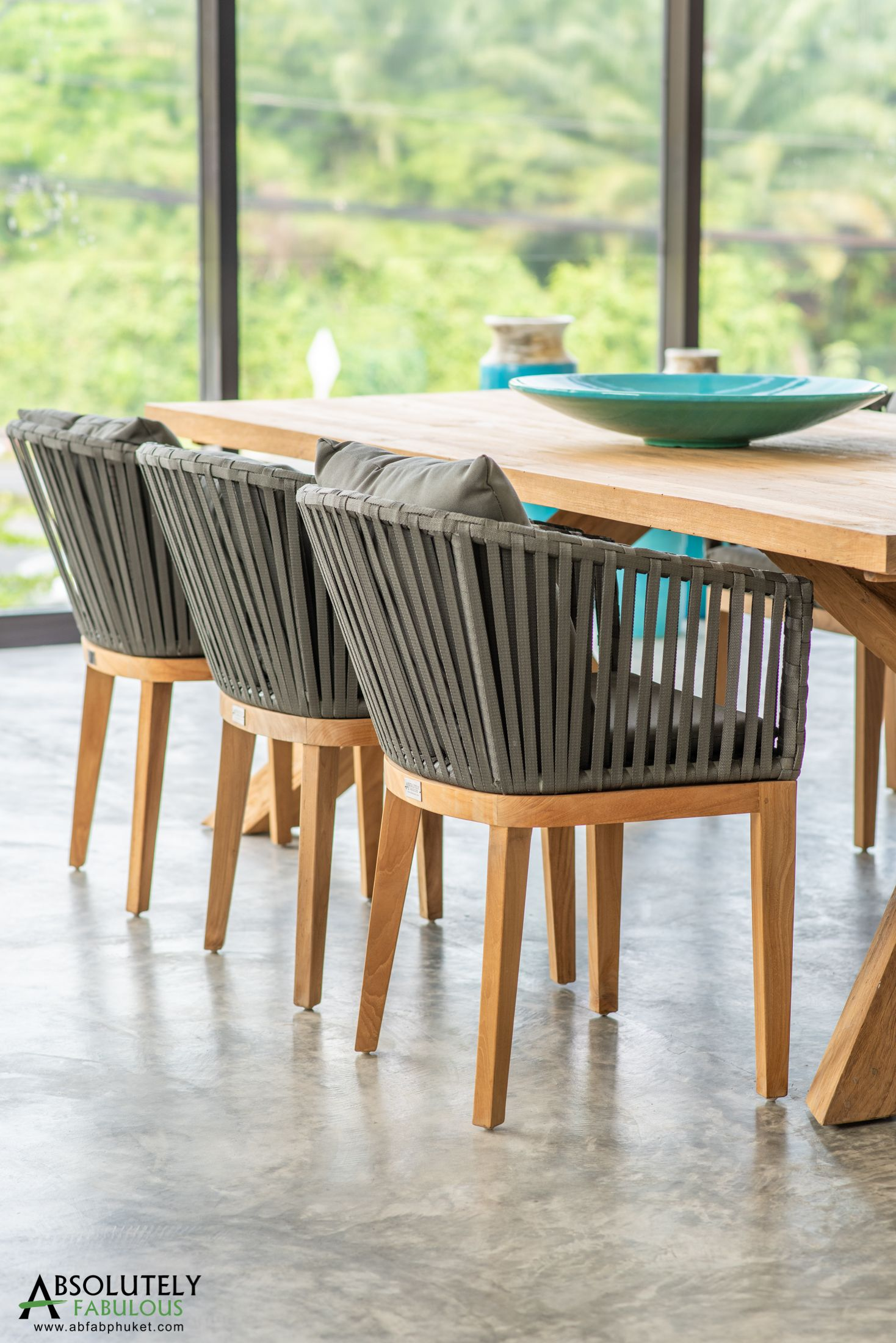 We Have Used Refurbished Teak Wood To Make These Dining Chairs Teak Wood Is Strong And Requires Very Little Maintenance Making It The Perfect Material For Fur