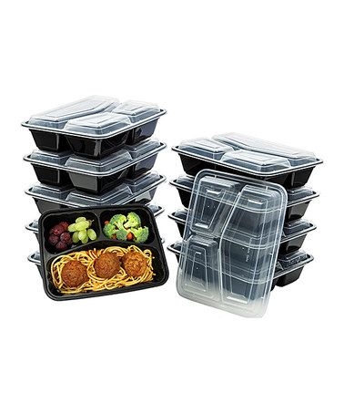 Another great find on #zulily! 10-Piece Triangle Food Storage Container Set #zulilyfinds