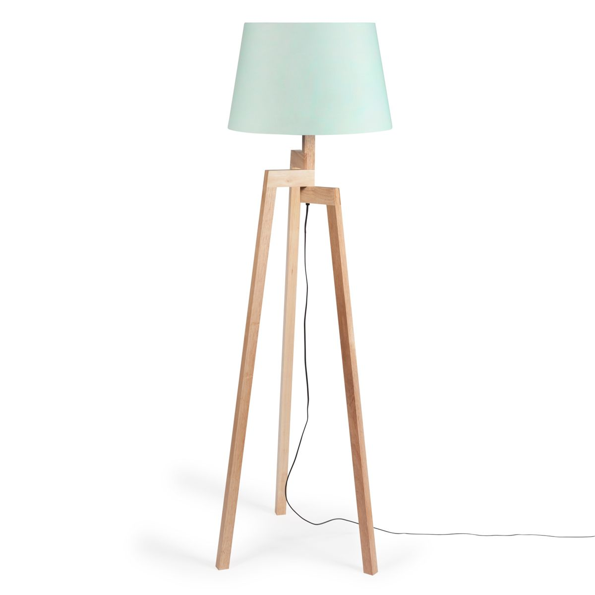 lampadaire tr pied pastel en bois h 150 cm chez maisons du monde 125 90 euros home. Black Bedroom Furniture Sets. Home Design Ideas