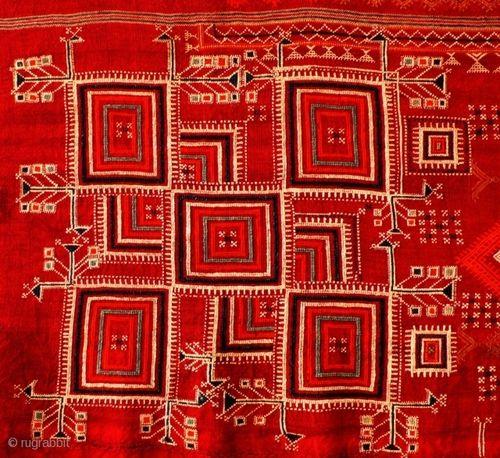 ANTIQUE SHEKHAWATI SHAWL - Textile Art from Rajasthan