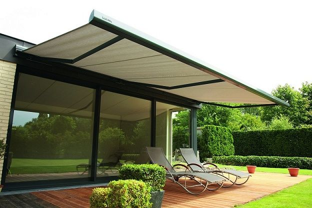 Patio Awnings - The Range of Fixed, Portable and Retractable Awnings
