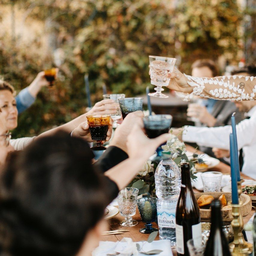 Maid Of Honor Toast, Wedding