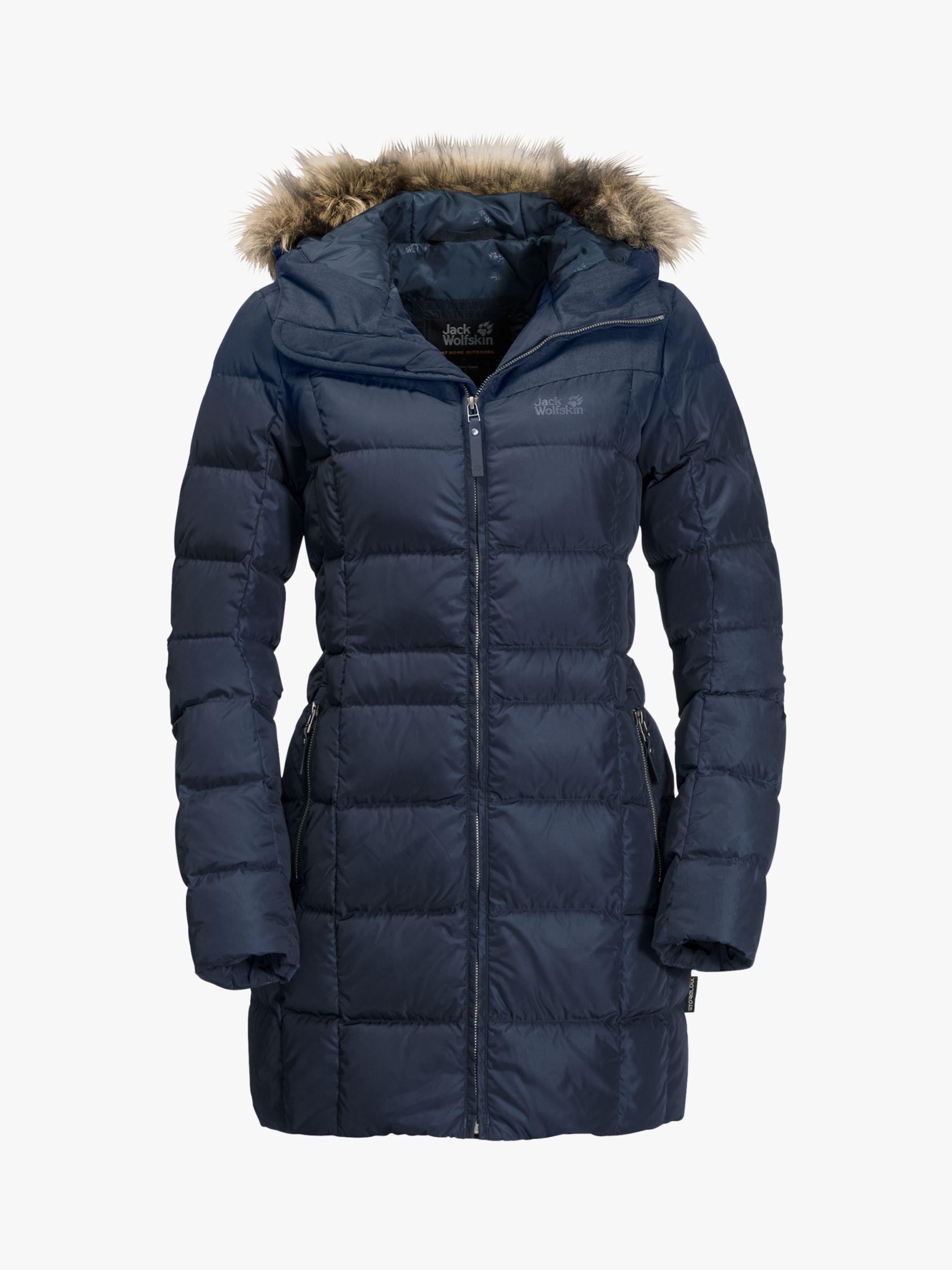 Jack Wolfskin Baffin Island Women's Insulated Coat, Midnight