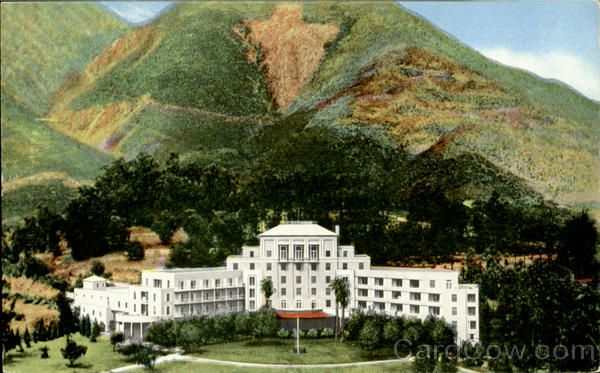 Arrowhead Springs Hotel And Spa San Bernardino California