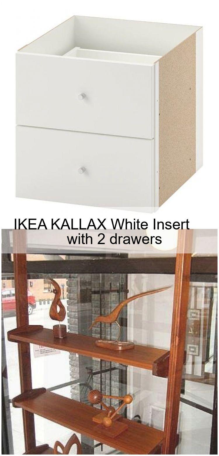 Ikea Kallax White Insert Mit 2 Schubladen Ikea Insert Kallax Mit Schubladen White
