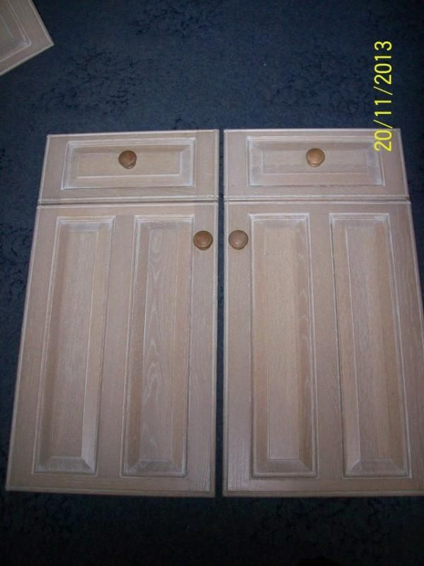 Limed Oak Kitchen Cabinet Doors | Kitchen cabinet doors, Kitchen ...