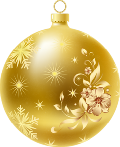 Gold Christmas Ornaments Png.Merry Christmas Christmas Ornaments 1 Gold Christmas