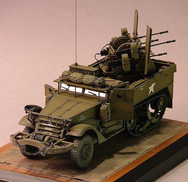 M16 Multiple Motor Gun Carriage by Jim Lewis at guntruck.com