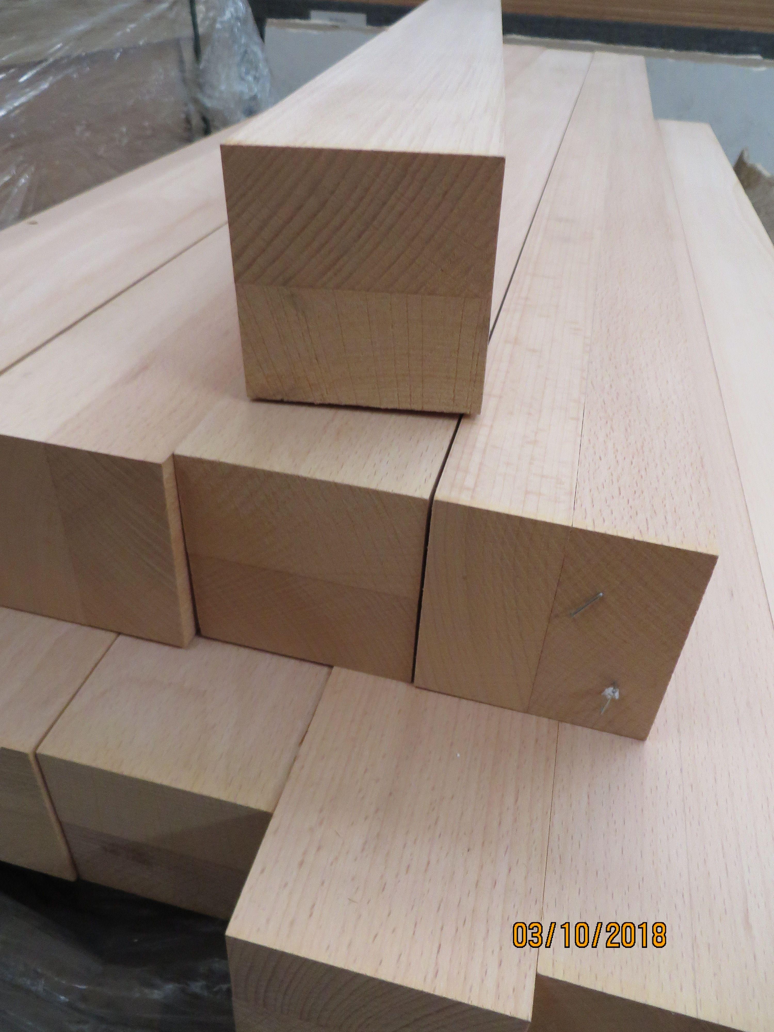 Holzpfosten Holz Holzpfosten Werkbank