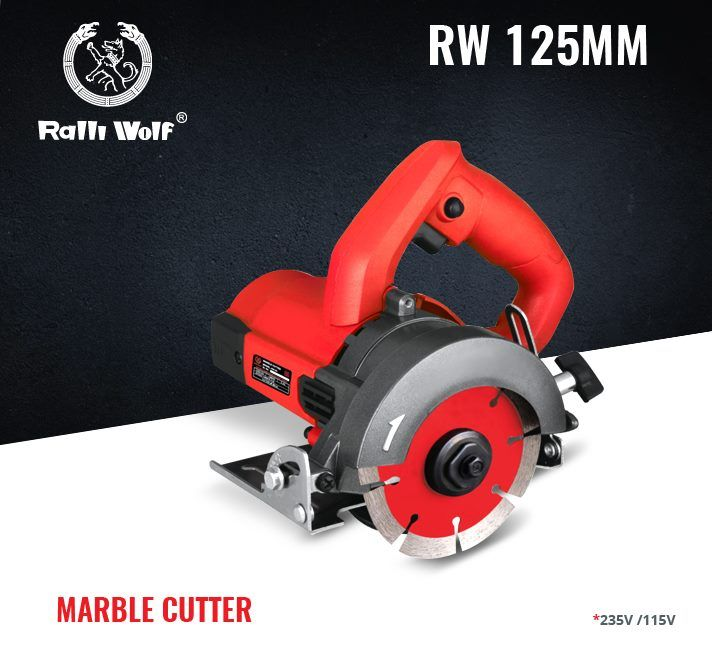 RW 125mm Marble cutter is compact, lightweight and double