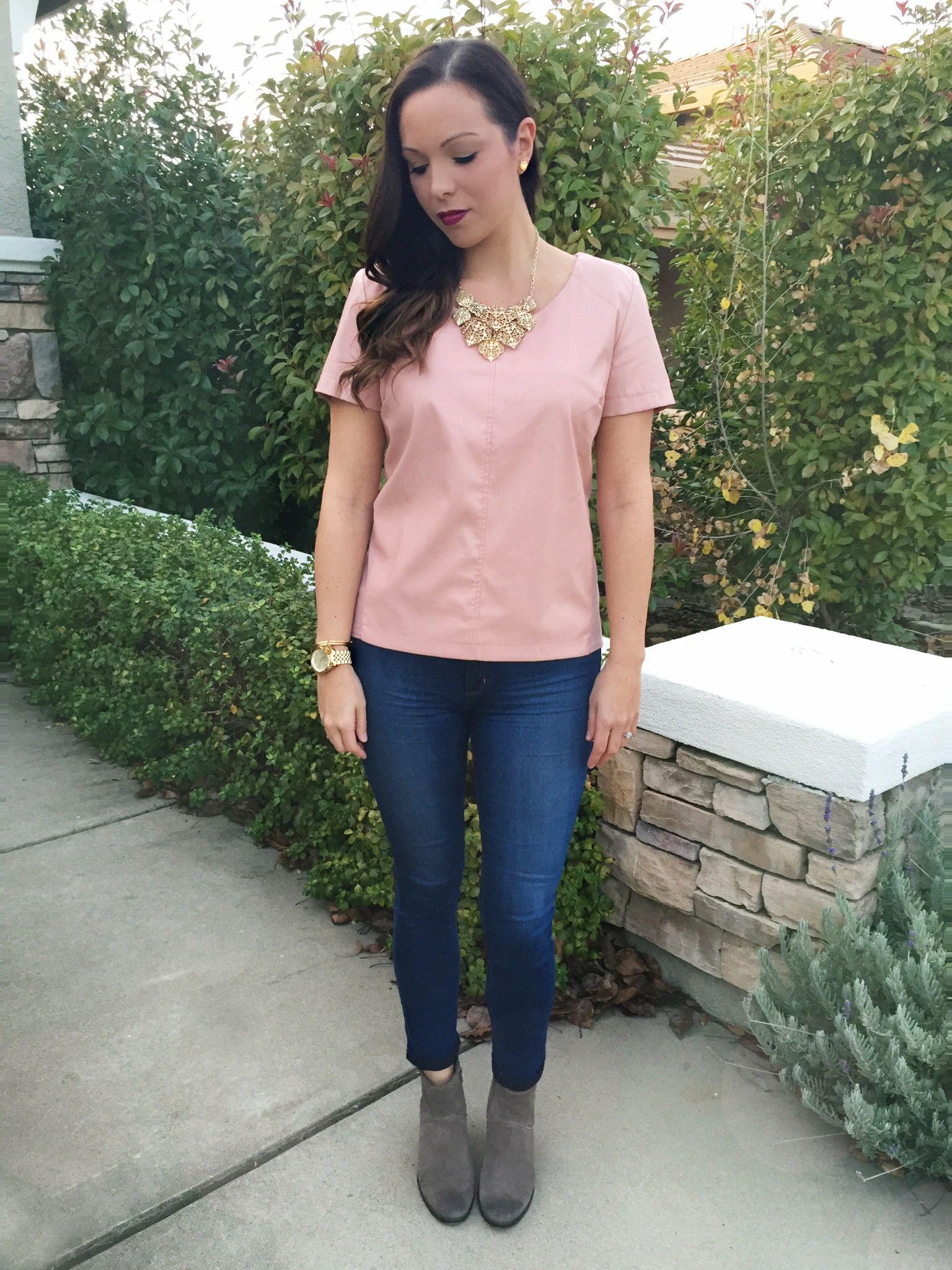 leather top #pinkleather #vegan  www.tailoredtogether.com