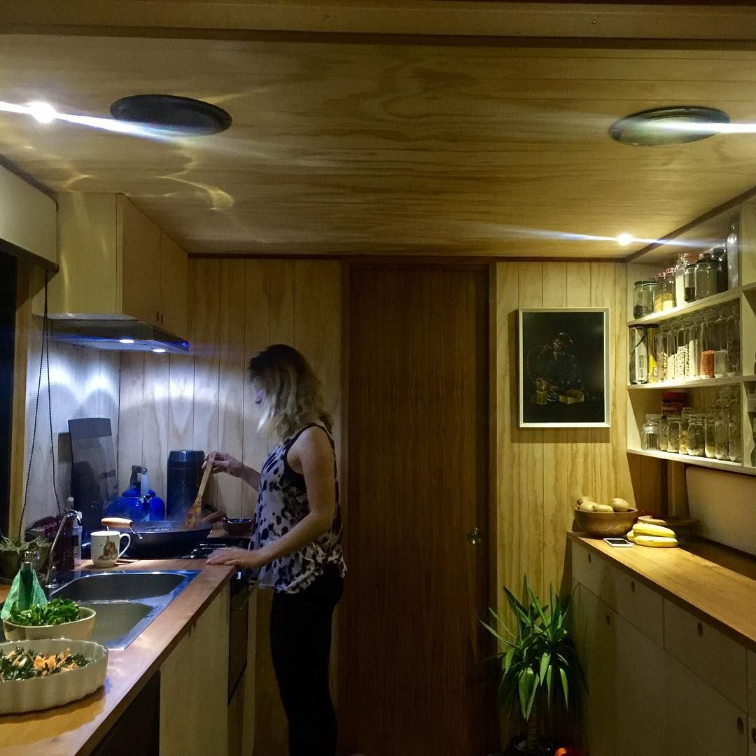 medium resolution of living big in a tiny house on instagram rasa is cooking up a storm in my friend kyle s tinyhouse this is where i m staying while in christchurch