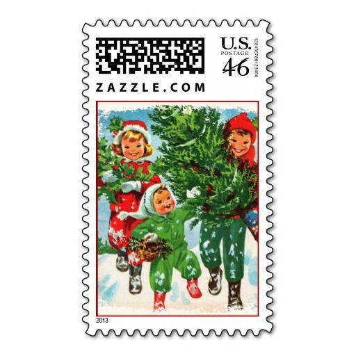 Zazzle makes vintage design Postage Stamps!