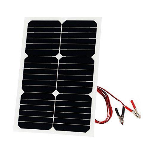 20 Watt Solar Panel Sunpower 18v 12v Portable Solar Panel Charger Bendable Thin Lightweight Solar Solar Panel Charger Portable Solar Panels Solar Panel Battery