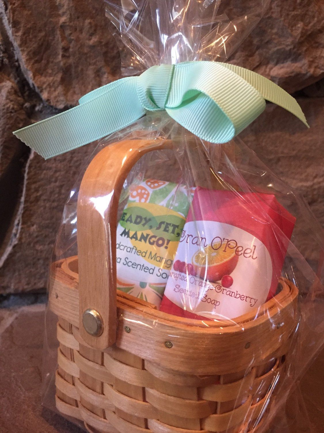Gift Basket Of OBoys Soaps And Soap Saver Dish Customize Personalize Your Own Makes The Perfect By OBoysSoapCompany On Etsy