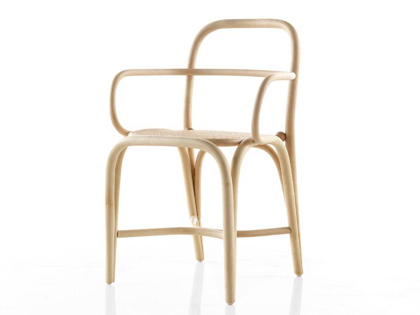 Fontal Designer Oscar Tusquets Blanca En Rotin Chaise Rotin Fauteuil Contemporain Chaises De Salle A Manger Design