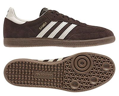 Adidas Samba trainers reissued in brown suede