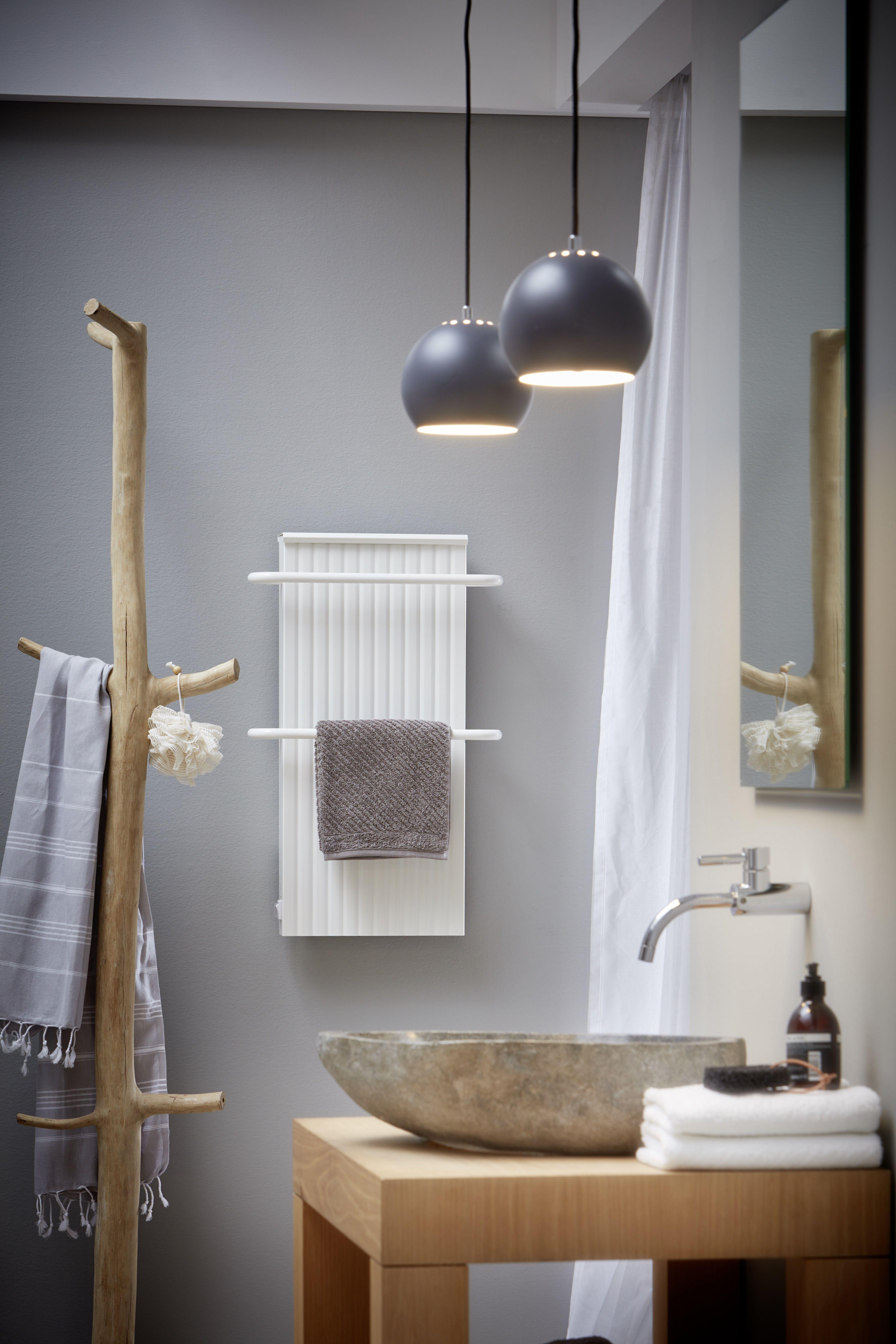 Moderne Badheizungen von wibo - warme Handtücher garantiert