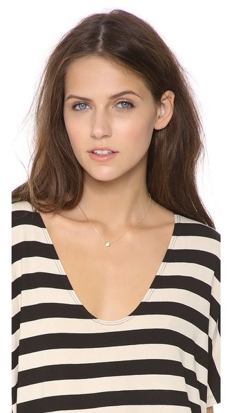 Sarah Chloe Petite Jolie Diamond Necklace