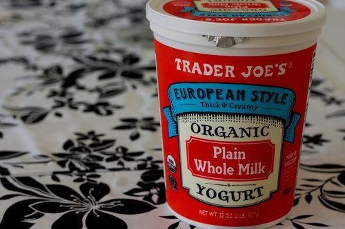 Full fat yogurt nutrition