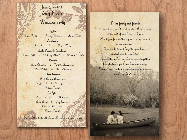 Printable VINTAGE WEDDING INVITATIONS Template - Baltimore Lace ...