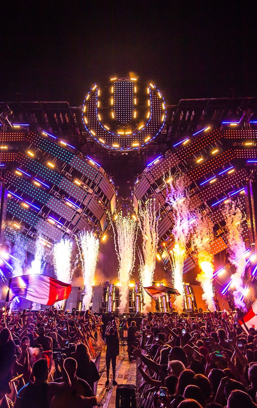 Electronic Flow Ultra | Music (Venues) in 2019 | Edm music