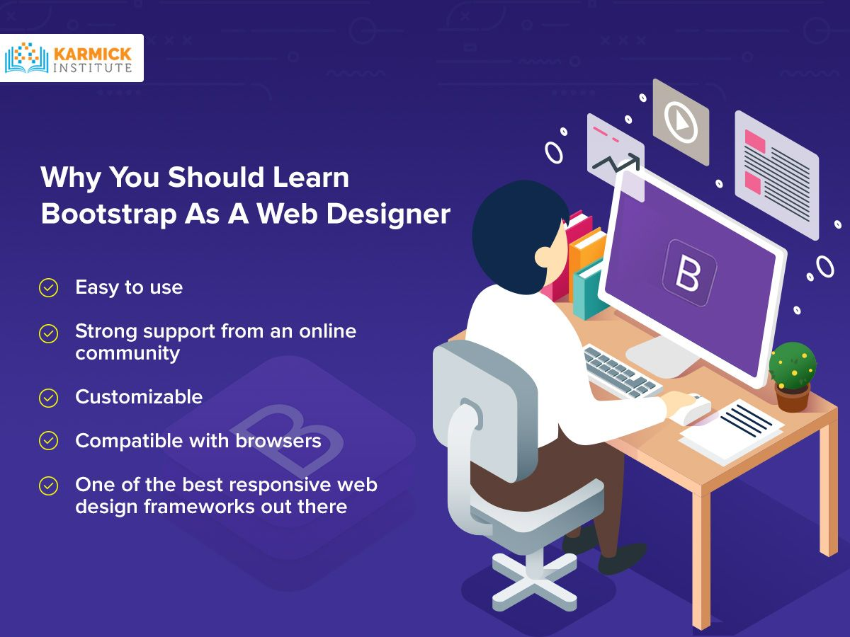 Why You Should Learn Bootstrap As A Web Designer Web Design Web Design Training Learning