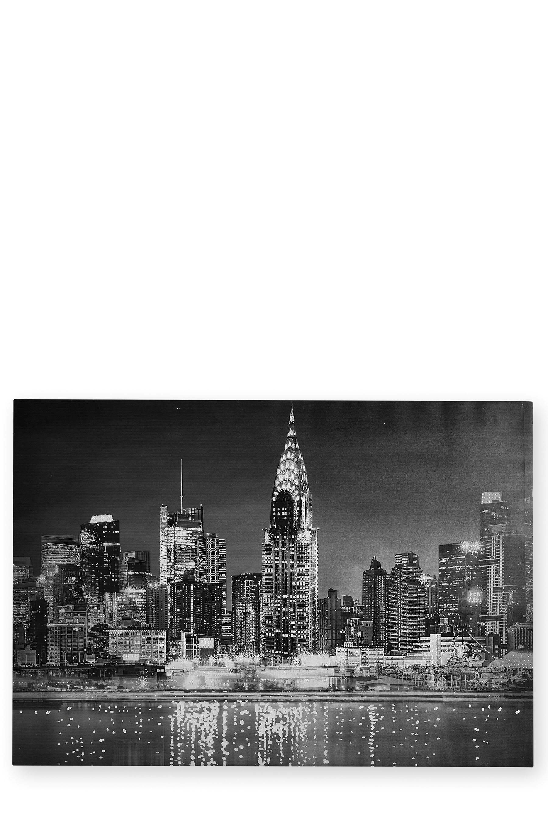 Buy Diamante Sparkle New York Canvas from the Next UK online shop ...
