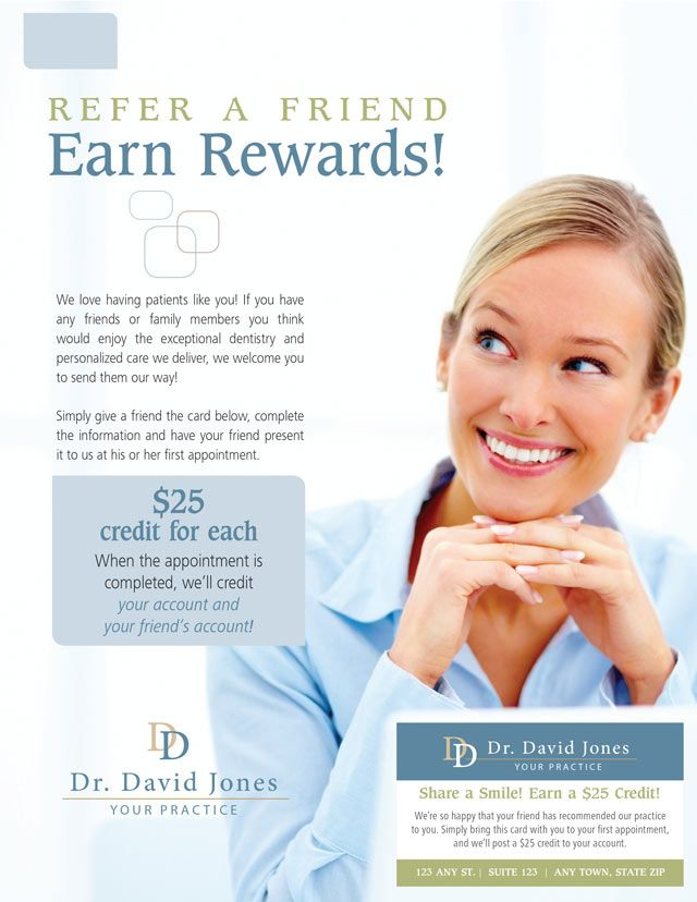 New Patient Special Dental Patient Referral Programs Gpm Express