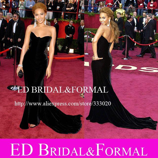 Beyonce Red Carpet Prom Dresses