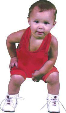 baby wrestling singlet