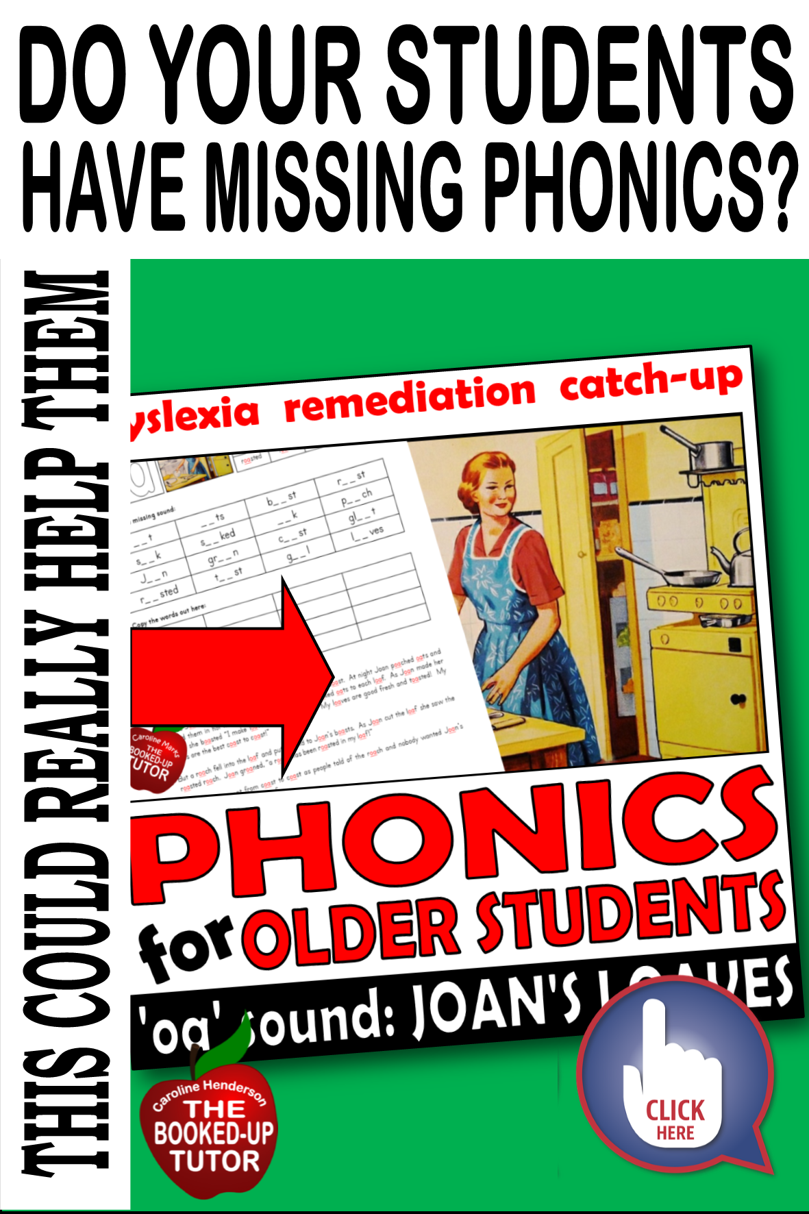 Middle School Intervention Dyslexia Worksheets In