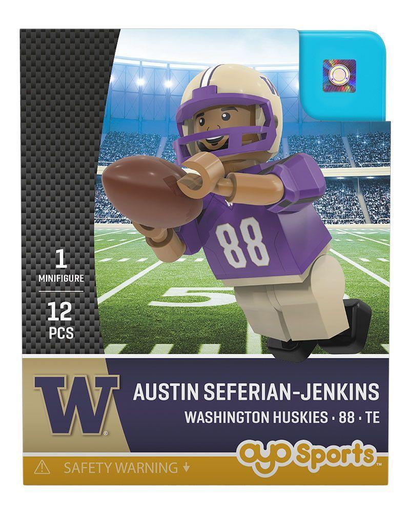 Washington Huskies AUSTIN SEFERIAN-JENKINS College Legend Limited Edition OYO Minifigure