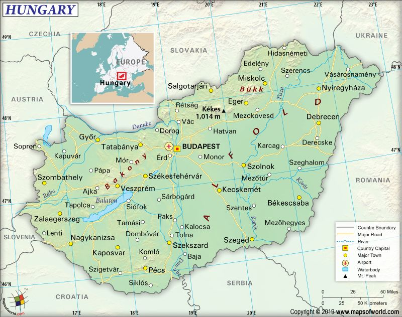 What Are The Key Facts Of Hungary Hungary Central Eastern