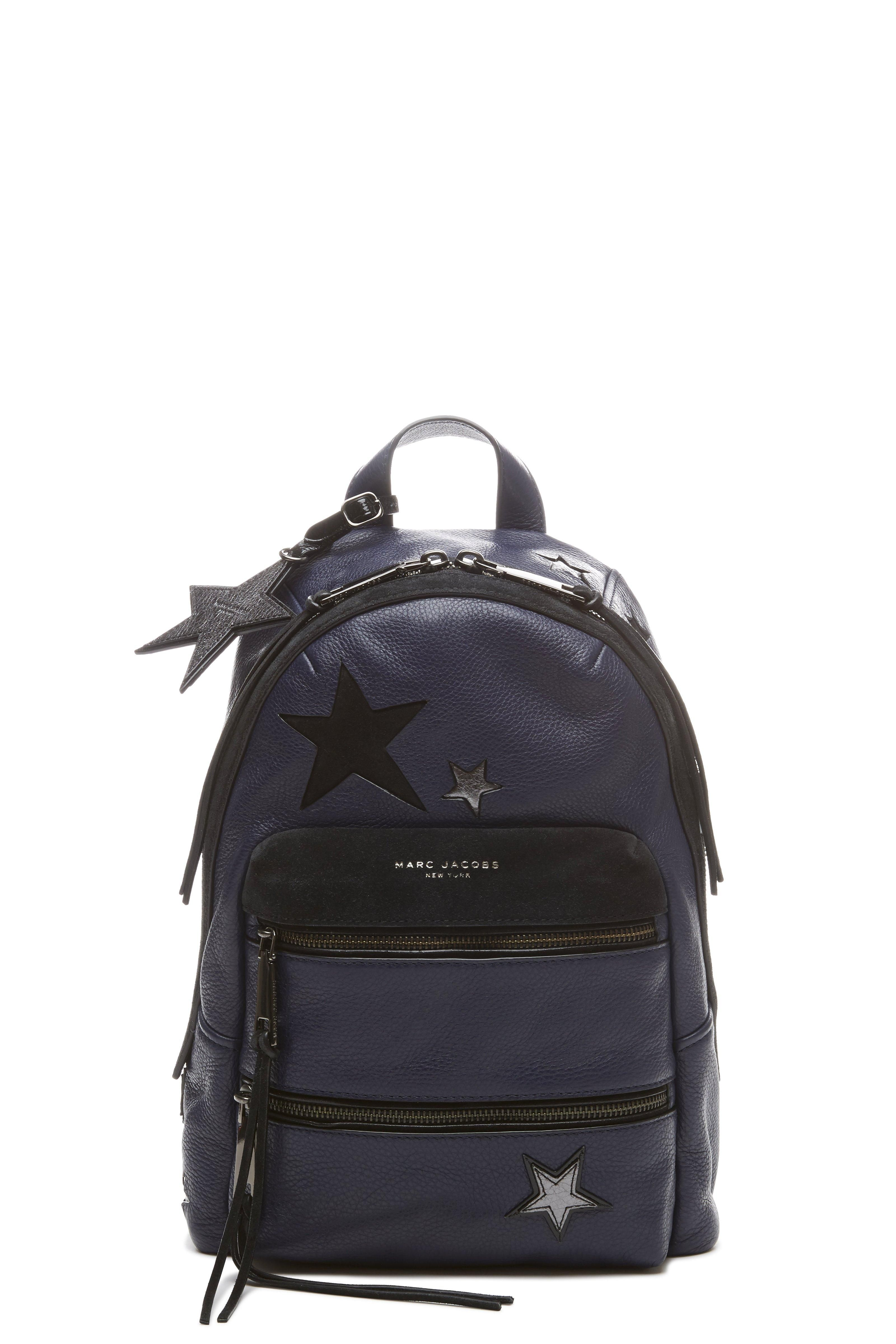 6d32e96708 MARC JACOBS Star Patchwork Leather Backpack.  marcjacobs  bags  leather   backpacks