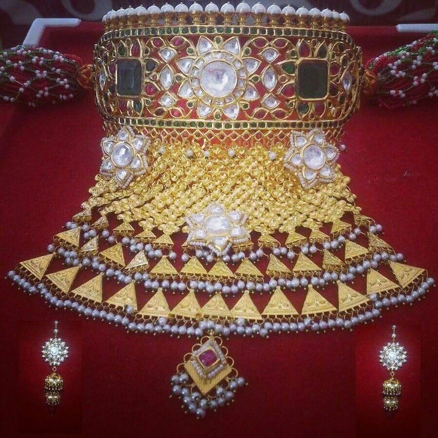 Kundan aad | Royal rajputi jewellery | Pinterest | Indian jewelry ...