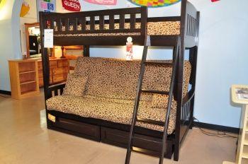 Merveilleux Futon Bunk Beds   Kidzone Furniture | Oklahoma Futon Company